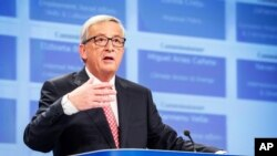 FILE - European Commission President Jean-Claude Juncker, above, agreed to the scheduling of a summit in Kyiv on April 27, according to a statement from Ukrainian President Petro Poroshenko.