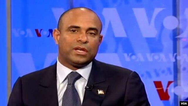 Haiti Prime Minister Laurent Lamothe