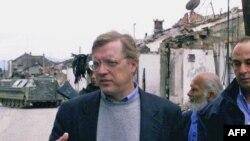 Chuyên viên hàng đầu về tội phạm chiến tranh Hoa Kỳ David Scheffer (hình lưu trữ)