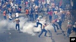 Од протестите во Скопје петокот