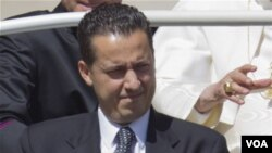 Bekas pelayan Paus, Paolo Gabriele tampil dalam tahap pertama peradilan atas dakwaan melakukan pencurian dokumen Paus (foto: dok).