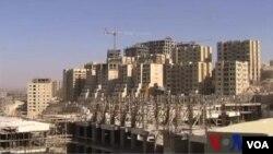 約旦河西岸 巴勒斯坦新城市拔地而起