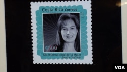 In early 2017, Costa Rica issued a stamp honoring native-born Sandra Cauffman for her accomplishments as a NASA engineer.