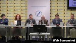 Predstavljanje istraživanja o odnosima Srbije, Hrvatske, Bosne i Hercegovine i Crne Gore u Medija centru u Beogradu