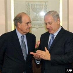 Jedan od brojnih susreta Mičela i Netanjahua