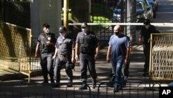 Военная полиция Рио-де-Жанейро, 26 мая 2020г.