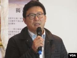 台湾执政党民进党立委姚文智(美国之音张永泰拍摄)