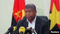 Joao Lourenco présidentiel candidat du Mouvement populaire pour la libération de l'Angola (MPLA) à la présidentielle angolaise à Luanda, 22 août 2017.