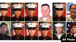 Աֆղանստանում օգոստոսի 26 -ին Քաբուլի օդանավակայանում մահապարտ ահաբեկչի պայթյունից զոհված ամերիկացի զինծառայողներ