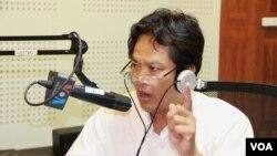 Tiến sĩ Sok Touch, nhà nghiên cứu đường biên giới Campuchia-Việt Nam.