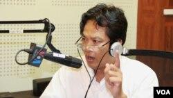 Tiến sĩ Sok Touch, nhà nghiên cứu đường biên giới với Campuchia-Việt Nam.