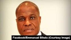 Martin Fayulu, Kinshasa, RDC, 8 janvier 2019. (Facebook/Emmanuel Bikalu)