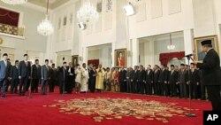 تغییرات جدی در کابینۀ اندونیزیا