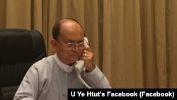 Presidente Thein Sein.