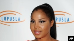 Singer and TV personality Toni Braxton, Nov. 1, 2012.