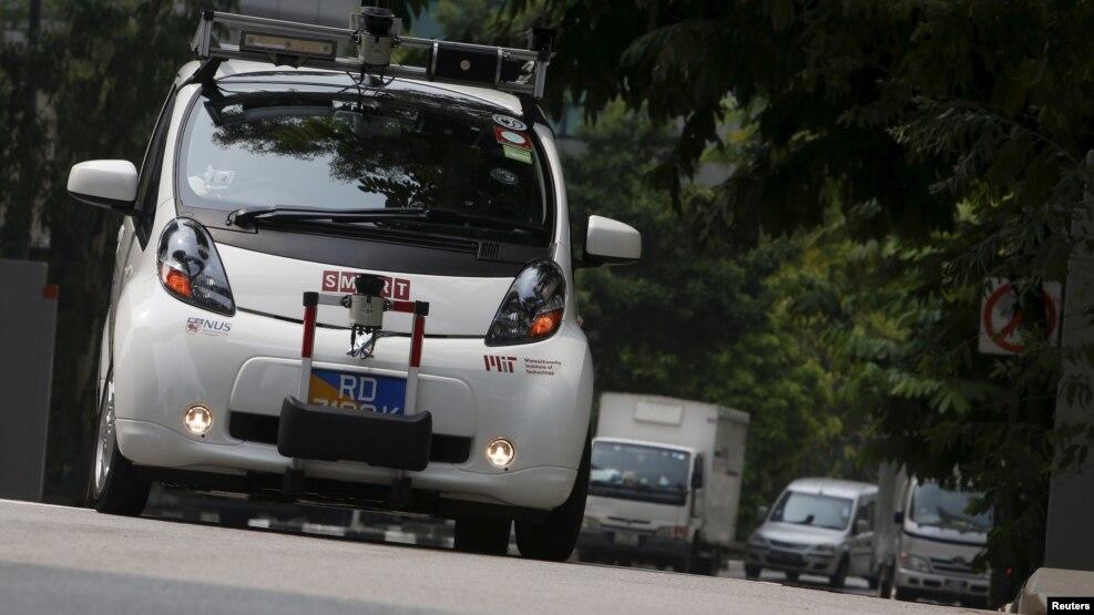 Teknologjia e makinave pa shofer
