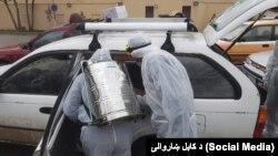 د کابل ښاروالۍ دوا پاشلو کاري ټېم