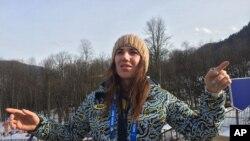 ၿပိဳင္ပြဲက ႏႈတ္ထြက္လိုက္တဲ့ ယူကရိန္းအားကစားမယ္ Bogdana Matsotska (ေဖေဖာ္ဝါရီ ၂၀၊ ၂၀၁၄)