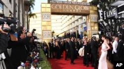 金球奖是好莱坞仅次于奥斯卡奖的活动。