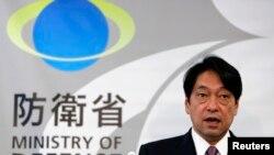 日本防衛大臣小野寺五典(資料照片)