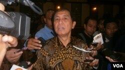 Ketua Badan Pemeriksa Keuangan (BPK) Hadi Poernomo. (VOA/Muliarta)