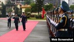 Đại tướng Terrence J.O'Shaughnessy tại Hà Nội, ngày 15/12/2017. (Photo: US Embassy Hanoi)