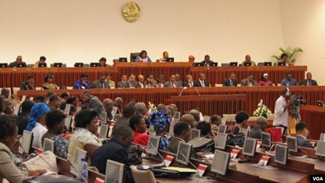 Trabalhos parlamentares em Maputo