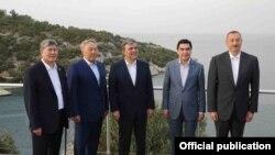 Azərbaycan, Türkiyə, Qazaxıstan, Türkmənistan və Qırğızıstan prezidentləri