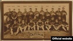 芝加哥白袜棒球队(1913年) ( 图片来源:Library of Congress Prints and Photographs)