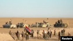 Iračka pustinjska regija na granici sa Sirijom
