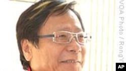 香港社会民主连线主席黄毓民美加募款宣扬理念