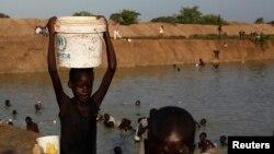 Des déplacés à Bentiu, dans l'Etat d'Unité, au Soudan du Sud (Reuters)