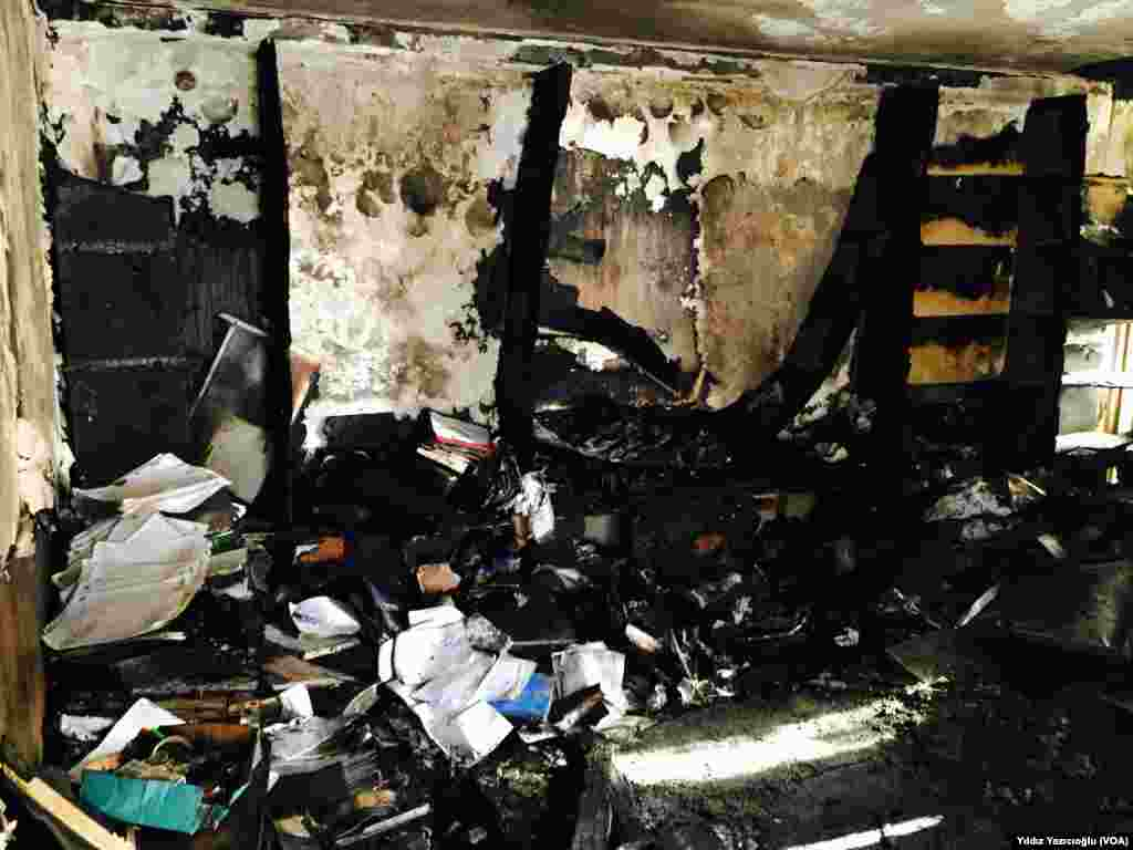 Saldırıdan iki gün sonra HDP Genel Merkezi, Ankara