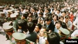 1989 წლის 4 ივნისი, ტიანანმენის მოედანი, ჩინეთი