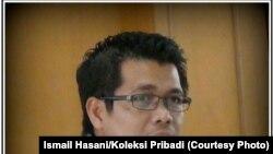 Direktur Riset SETARA Institute Ismail Hasani dalam sebuah acara diskusi di Jakarta Jumat 21 Juli 2017. (Courtesy: Ismail Hasani/Koleksi Pribadi)