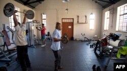Des membres s'entraînent dans le centre à Soweto, le 3 juillet 2013.