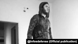 Mikael Batista jihadista luso-descendente (foto de arquivo)