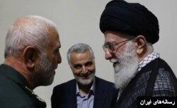 قاسم سلیمانی فرمانده سپاه قدس پیش برنده سیاست های نظامی رهبر ایران در دیگر کشورهاست.