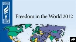 미국의 국제 인권단체인 프리덤 하우스가 발표한 2012 국제 언론자유 보고서