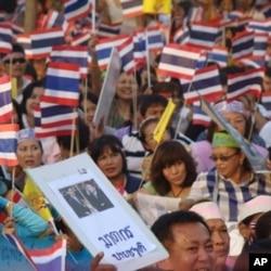 A pro-Government Rally in Bangkok, Thailand, 24 April 2010