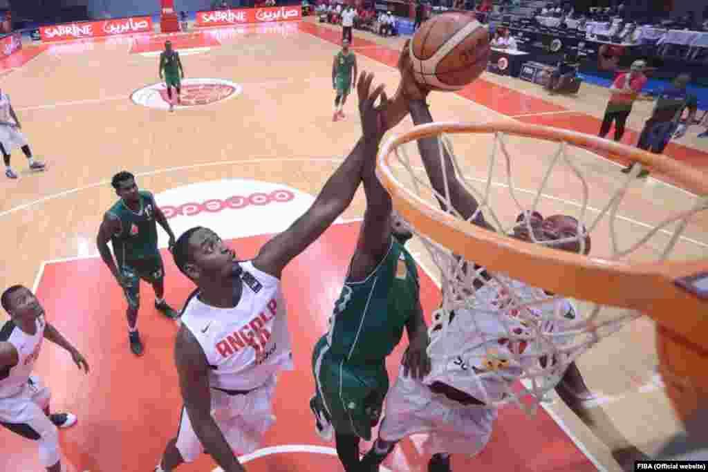 Valdecio Joaquim, selecção de Angola no AfroBasket2015