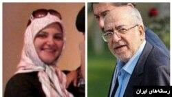 رسانه های ایران با انتشار این عکس می گویند او شبنم نعمت زاده دختر وزیر سابق صنایع دولت روحانی است.