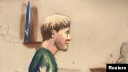 Дилан Руф в суде
