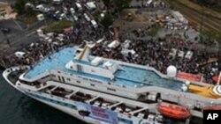 غزہ کے لیئے امدادی قافلے کا ترکی جہاز