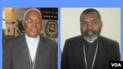 Bispo Dom Paulo Mandlate e Arcebispo Dom Francisco Chimoio