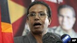 Presiden Timor Leste, Taur Matan Ruak (foto: dok).