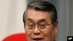 Japanese Defense Minister Naoki Tanaka
