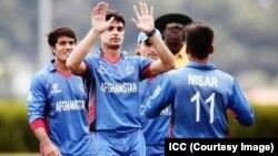 بازیکنان تیم ملی ۱۹ سال کرکت افغانستان