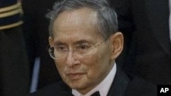 泰国国王普密蓬。(资料图片)