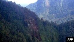 Индонезия, место крушения ближнемагистрального самолета Sukhoi SuperJet-100